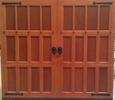 8x7 Wood Overhead Carriage House Garage Door