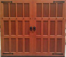 8x7 wood overhead carriage house garage door