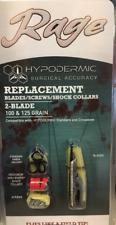 Rage HYPODERMIC REPLACEMENT BLADES 2 Blade 100 & 125 Grain MPN - R 39005