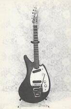 """*Postcard-""""The Awesome 6-String Electric Guitar"""" /Picture on Postcard/ (U2-206)"""