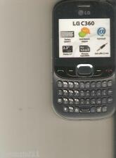 FINTO TELEFONO DA VETRINA - DUMMY - LG C360  (IS NOT A PHONE)