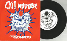 THE GONADS Oi Nutter / Englands Glory LIMITED 7 INCH Vinyl 1997 USA Pub City