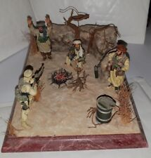 SOLDAT RARE ARRESTATION DIORAMA  OUSSAMA BEN LADEN STYLE KING & COUNTRY , CONTE