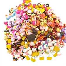 100Pcs Squishy Fast food&Rilakkuma Squeeze Charms Slow Rising Toy  Collec  A