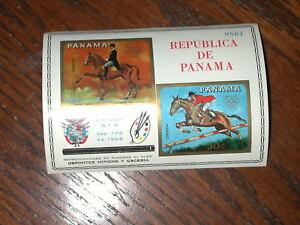 PANAMA 1966 #C362 Olympics Mexico Equestrian MNH