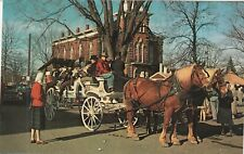 *(N)  Chardon, OH - Geauga County Maple Syrup Festival - Horses and Carriage