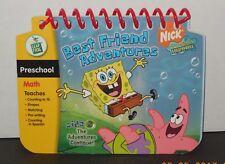 Leap Frog My First LeaPad  Spongebob Sqaurepants Best Friend Adventure Book Only