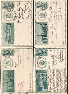 HUNGARY POSTAL STATIONERY BIRDS 14 CLASSIC POST CARD BIRD (1294)