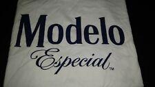 Modelo Especial Beer T-Shirt Tee White Size XL 100% Cotton