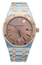 Audemars Piguet Royal Oak Ladies Steel & Rose Gold Watch 67650sr Quartz