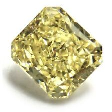 Yellow Diamond  - 3.01ct Natural Loose Fancy Yellow Canary GIA VS2 Radiant