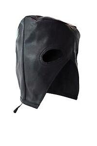 Genuine Leather Executioners Hood