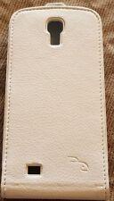 Rocketfish Samsung Galaxy S4 Leather Flip Case - White (RF-SS4P2WP-E)