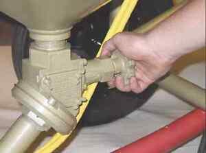 Clemco Quantum Manual Abrasive Metering Valve w/ Wye Pipe # 22845