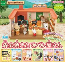 Sylvanian Families CAPSULES TOY FOREST BAKERY 6pc Set Epoch Japan