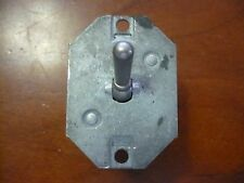 VINTAGE AIRCRAFT PRIMARY POWER TOGGLE SWITCH 4 PRONG CUTLER-HAMMER 8701K3 AC/DC