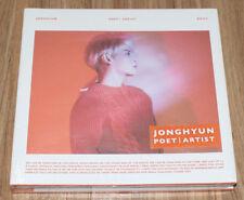 JONGHYUN SHINee Poet ᛁ Artist K-POP CD + FOLDED POSTER SEALED