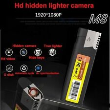 Full Hd 1080P Hidden Spy pinhole Cam Recorder Dvr mini Dv Camera dvr + lighter