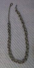 """Vintage Lisner Goldtone Chain Links Necklace ~ 20"""""""