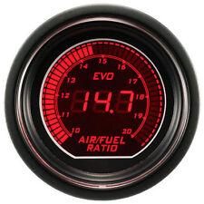 """2"""" 52mm Blue/Red LED Air Fuel Gauge Auto Digital Air Fuel LED Light Meter 12V"""