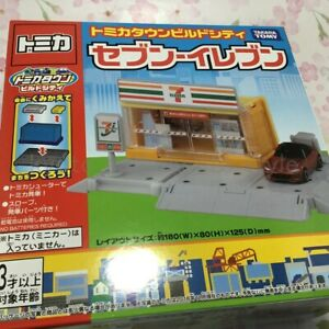 TAKARA Tomy Tomica Town Build City SevenEleven 7-11 6015 Convenience store JAPAN