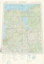 Russian Soviet Military Topographic Maps - RIGA-TALLINN 1:1 000 000, ed.1989
