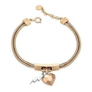 OPS BRACCIALE OPSOBJECTS ROCKMANTIC HEART IPR  DONNA OPSBR-613
