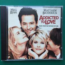 Rachel Portman ADDICTED TO LOVE Film Soundtrack CD Meg Ryan Matthew Broderick 97