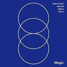 SUPER JUNIOR [MAGIC] Special Album PART.2 CD+Photo Book+Photo Card K-POP SEALED