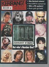 KERRANG MAGAZINE     ISSUE 899  APRIL 13 2002  100 COOLEST STARS    LS