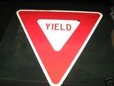 "Yield Sign Aluminum 24.5"" High"