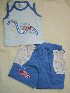 Disney Cars Baby Sommer-Set Gr.68,74,80,86 und 92 NEU