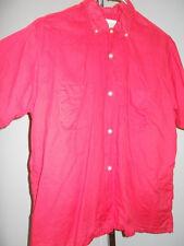 Vintage 50s 60s Red B.V.D. Short Sleeve Shirt Rockabilly Retro TeddyBoy Retro L