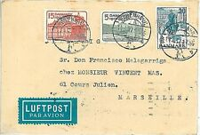 POSTAL HISTORY : cover from DENMARK to FRANCE 1937 : HORSE uniforms BOATS