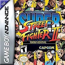 SUPER STREET FIGHTER II GAME BOY ADVANCE GBA COSMETIC WEAR