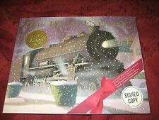 THE POLAR EXPRESS CHRIS VAN ALLSBURG HD SIGNED