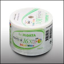 Ridata Inkjet Printable DVD-R 16X 4.7G 50pcs