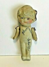 Vintage Bisque China Doll with wire hinged arms Made In Japan