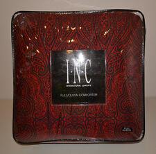 INC International Concepts Red MEDICI COMFORTER FULL/QUEEN $190