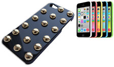 COVER CASE FLIP COMPATIBILE IPHONE 5 BORCHIA BORCHIE COLORE NERO ARGENTO