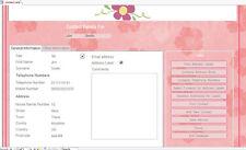 Los contactos personales y etiquetas de dirección base de datos fácil de usar en MS Access