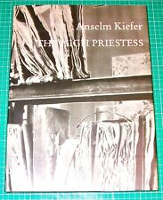 ANSELM KIEFER - 'The High Priestess' - First ed. in English - 1989 - LARGE H/B