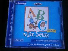 ABC by DR. SEUSS - BRODERBUND LIVING BOOKS PC CD-ROM 2001 - VINTAGE - FREE POST!