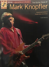 """""""The Guitar Style Of Mark Knopfler""""    guitar tab signature licks with CD"""