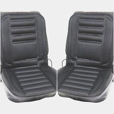 PAIR Heated thermo car van seat cushion pad cover heating 12v + adapter healing