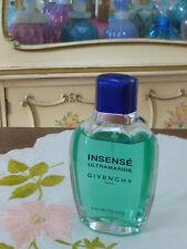 VTG 1990s ORIG Classic Men's Givenchy INSENSE ULTRAMARINE EDT Spray 1.7 Oz 50ml