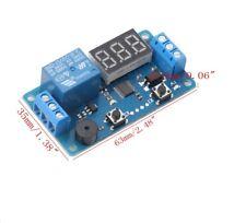 Relè Timer temporizzatore LCD programmabile 12Vcc carico max 5A