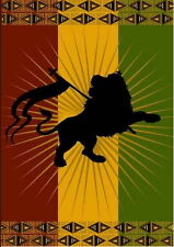 Rasta Lion Of Judah Giant Wall Tapestry (NEW)
