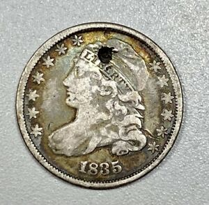 1835 Capped Bust 10C Silver Dime