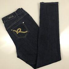 """Rocawear Hannah  Skinny Leg Stretch Sz 16 Womens Jeans Dark Wash (36"""" x 33"""")"""
